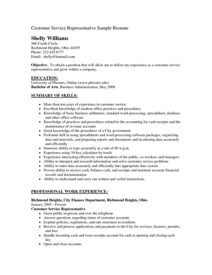 hiring manager resume sample new customer service objectives of special hiri objective Resume Objective Resume Samples Of Customer Service