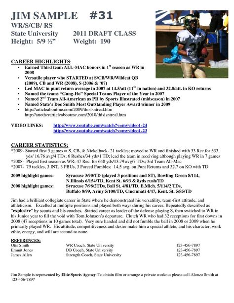 hockey player resume template best of football insrenterprises socalbrowncoats soccer Resume Professional Hockey Player Resume