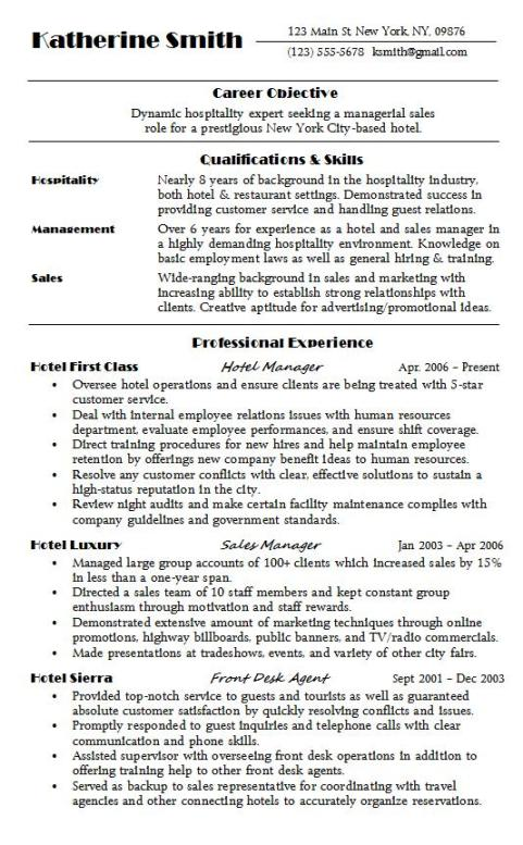 hospitality resume sample hire examples hospitality1 central supply technician for Resume Hospitality Resume Examples