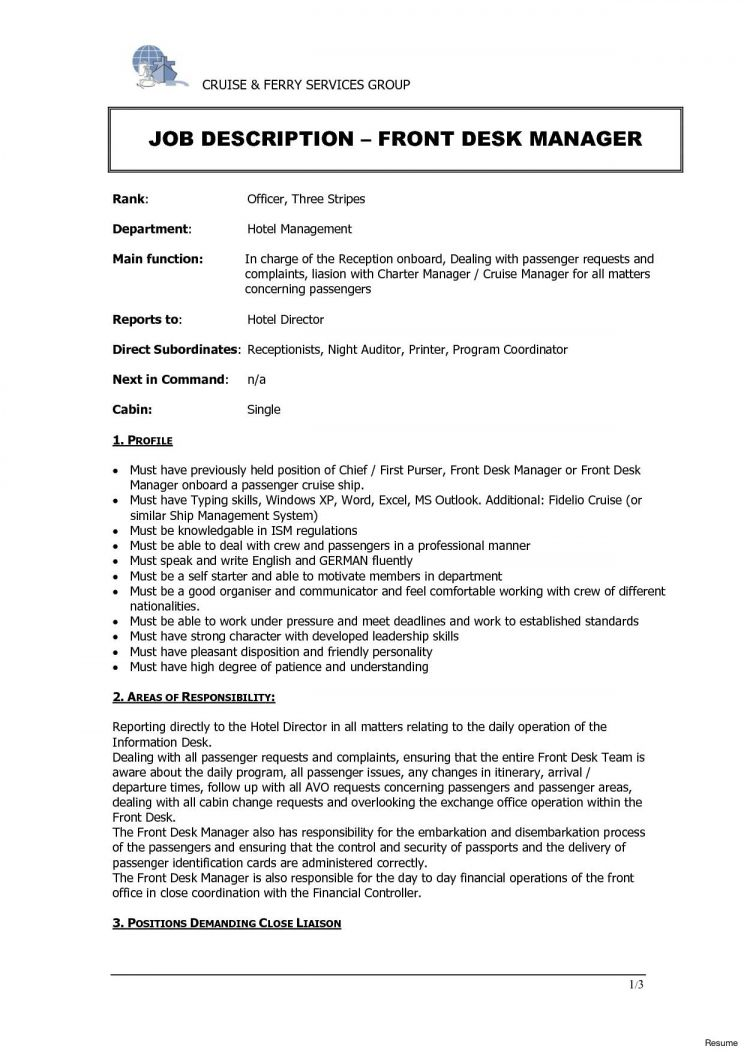 hotel front desk job description redesign and receptionist jobs clerk duties for resume Resume Front Desk Clerk Duties For Resume