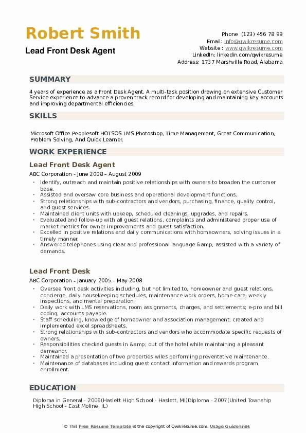 hotel front desk job description resume elegant agent samples in summary examples clerk Resume Front Desk Clerk Duties For Resume