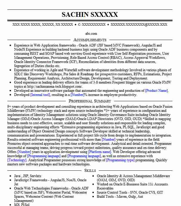 identity and access management resume example becton company new milford examples sample Resume Identity And Access Management Resume Examples