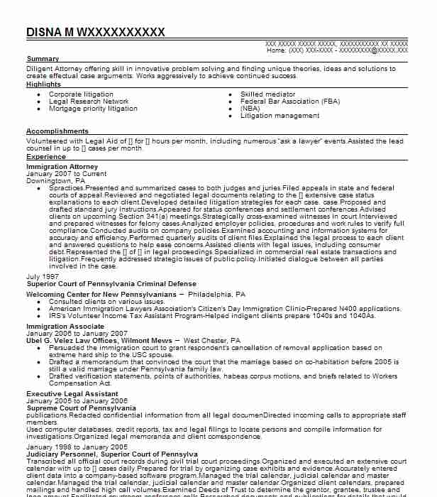 immigration attorney resume example law office of rosabel colon orlando sample consulting Resume Immigration Attorney Resume Sample