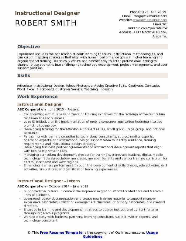 instructional designer resume samples qwikresume technology sample pdf first job out of Resume Instructional Technology Resume Sample