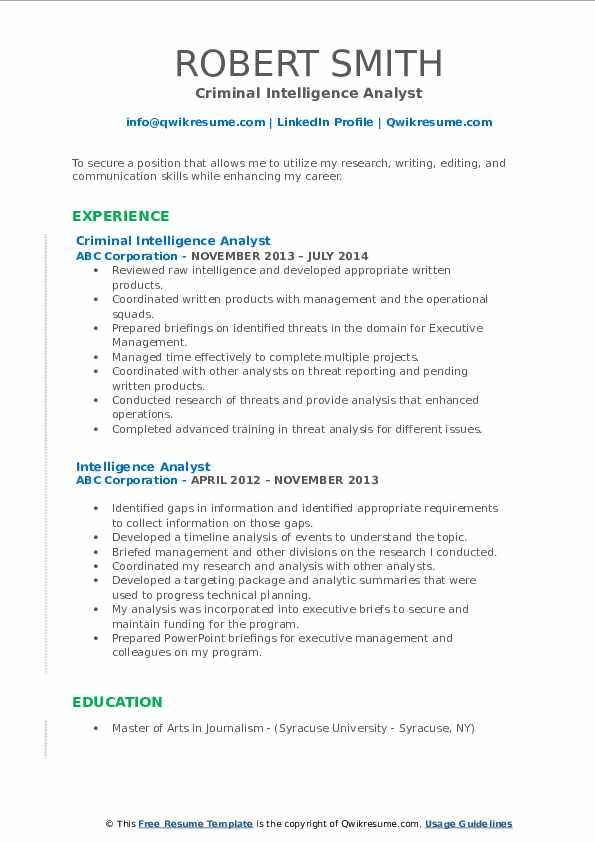 intelligence analyst resume samples qwikresume cyber pdf immigration consultant great Resume Cyber Intelligence Analyst Resume