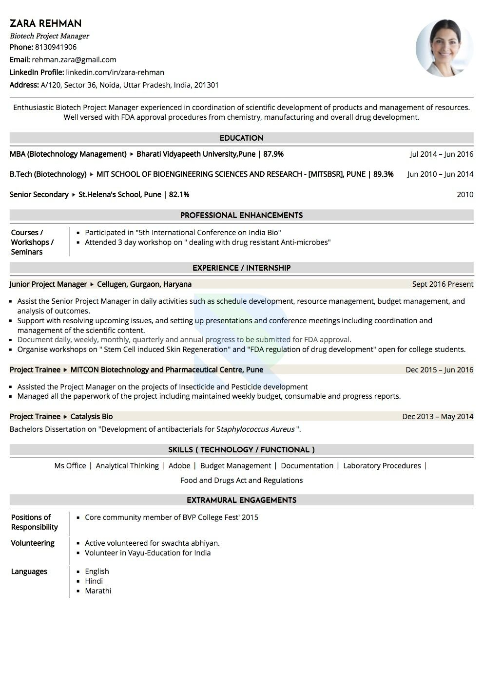 is ats and to make your resume friendly software for sample biotechnology manager pattern Resume Ats Software For Resume