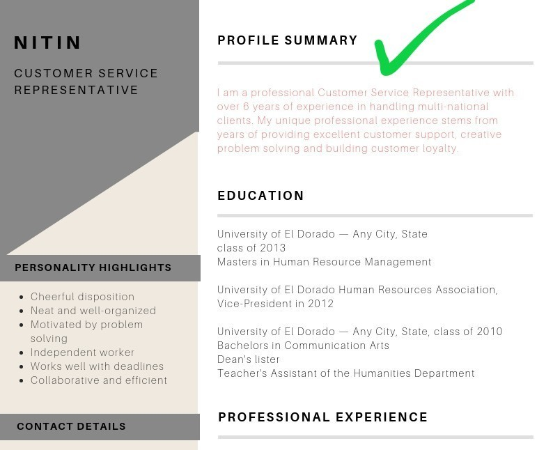 is resume profile summary writing on right placement teamwork skills human resources Resume Writing Profile On Resume