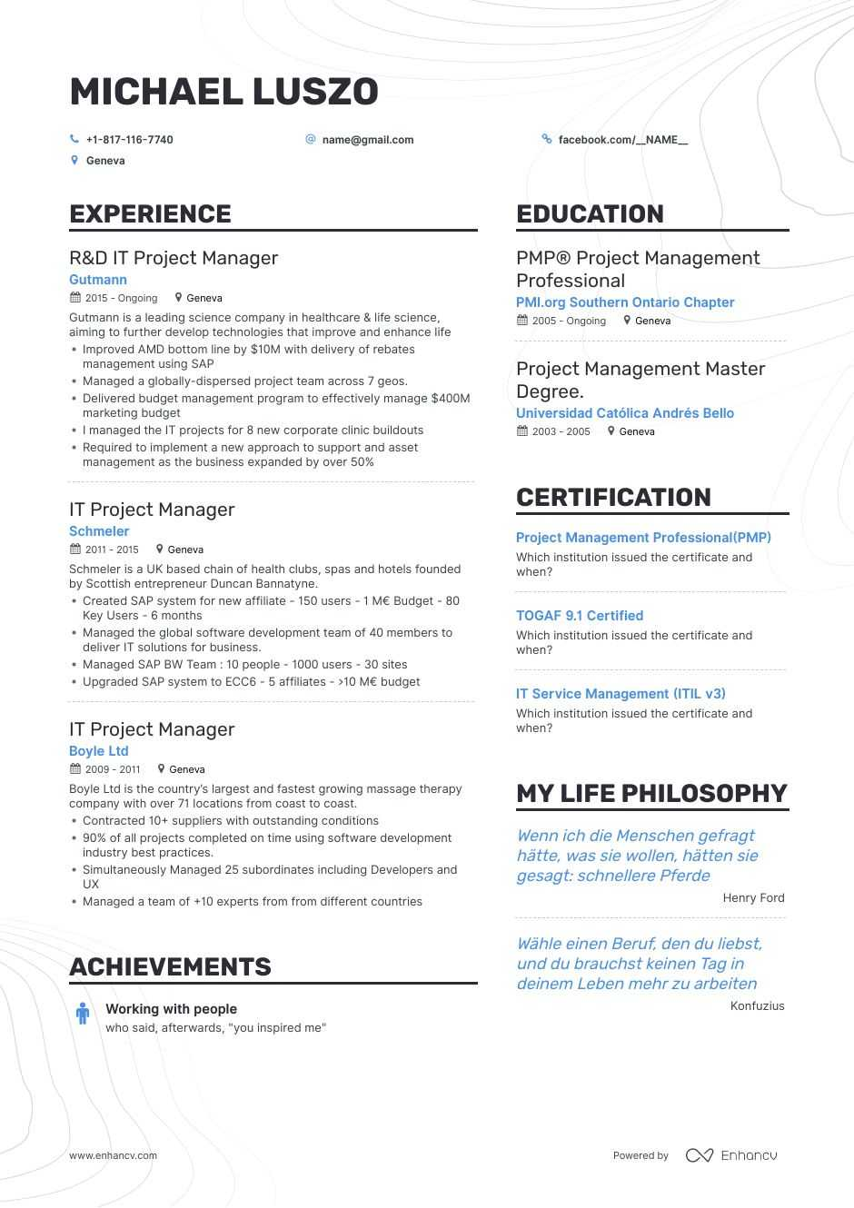 it project manager resume examples and skills you need to get hired implementation Resume Implementation Project Manager Resume