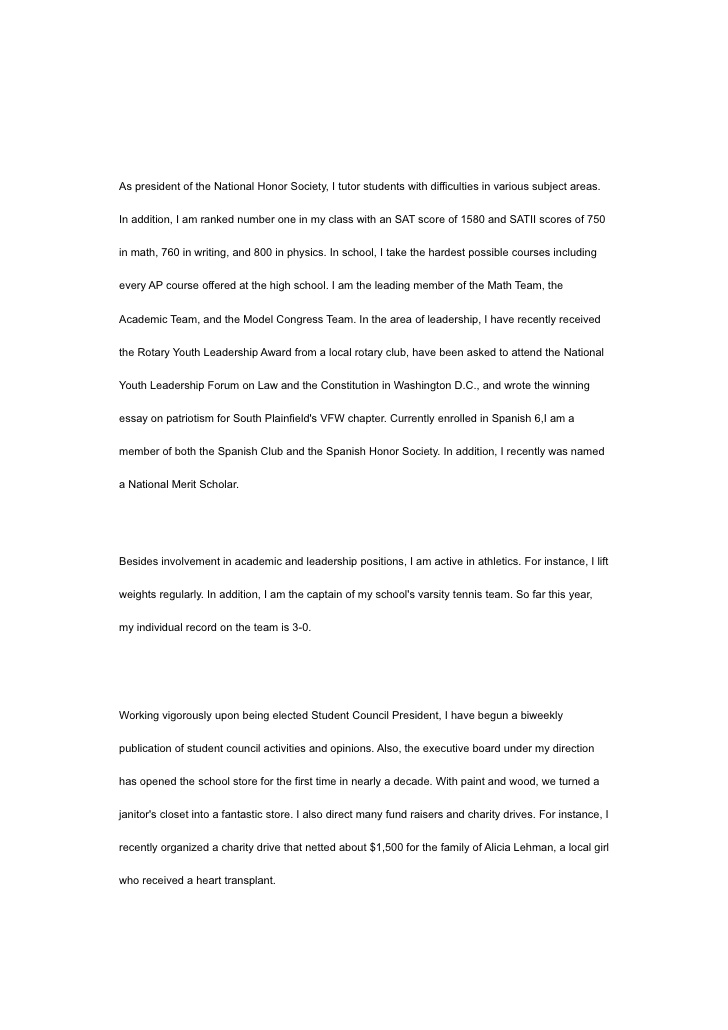 john the paragraph essay format english mathematics assignment help national honor Resume National Honor Society Resume