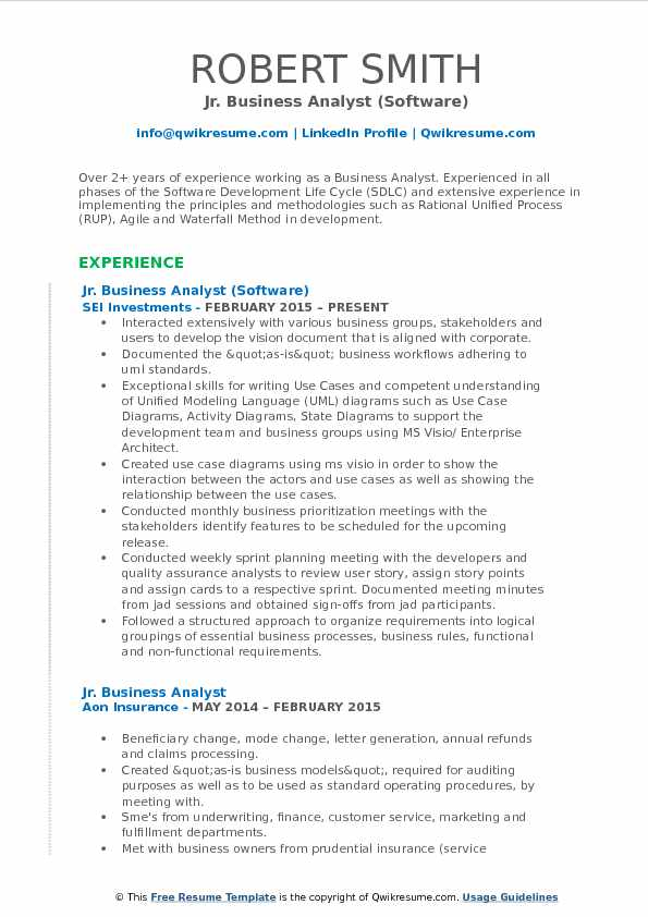 jr business analyst resume samples qwikresume sample for experienced years pdf best maker Resume Sample Resume For Experienced Business Analyst 2 Years