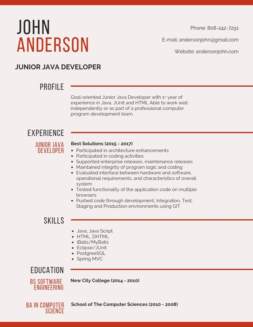 junior developer resume samples templates pdf word resumes bot examples writing services Resume Software Development Manager Resume Examples 2020
