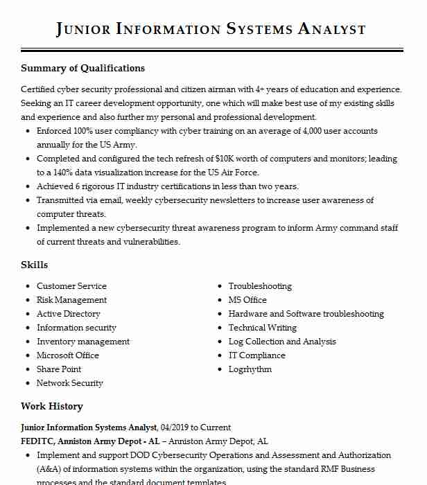 junior information security analyst resume example consulting cyber xposure mep project Resume Junior Cyber Security Analyst Resume
