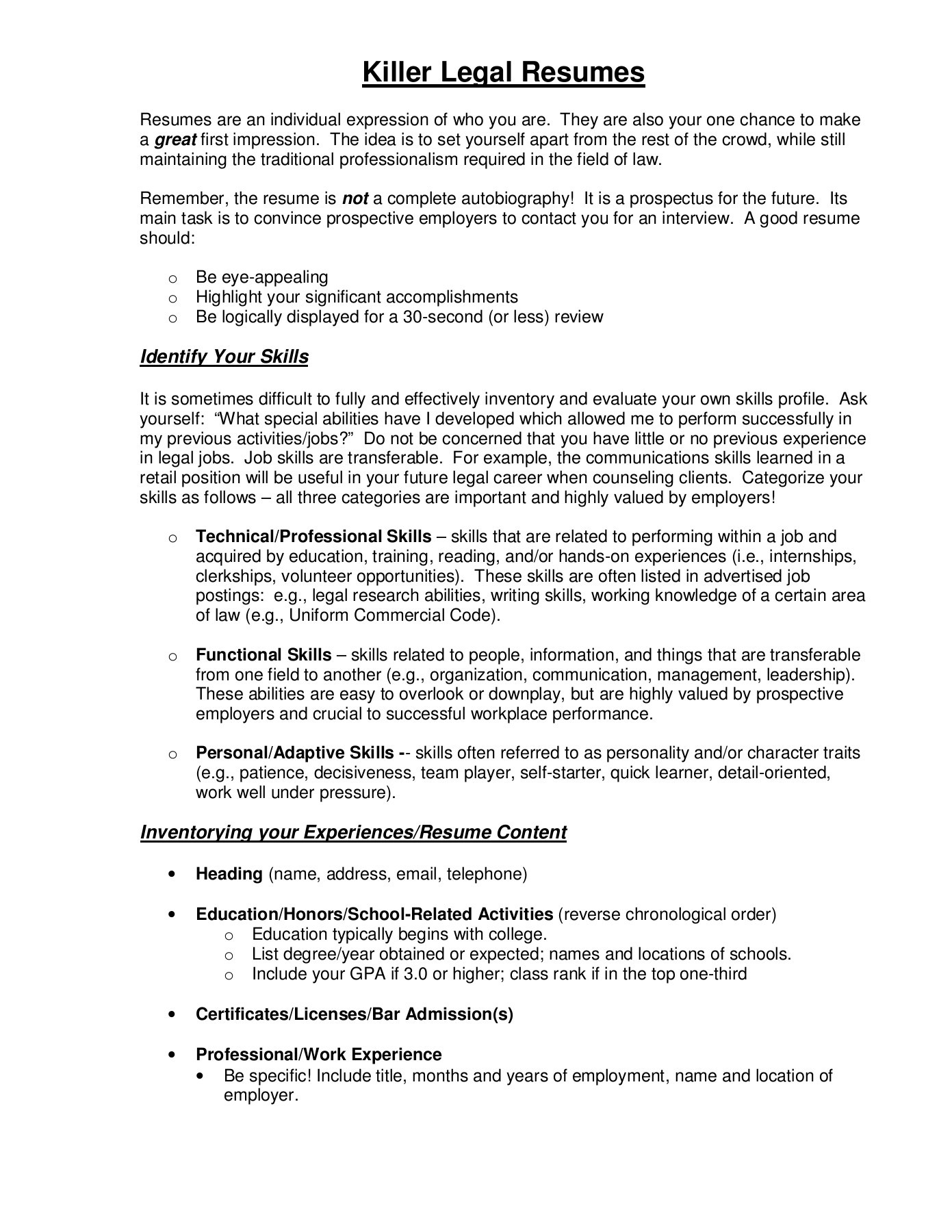 killer legal resumes sturm college of law flip pdf fliphtml5 character traits for resume Resume Character Traits For Resume