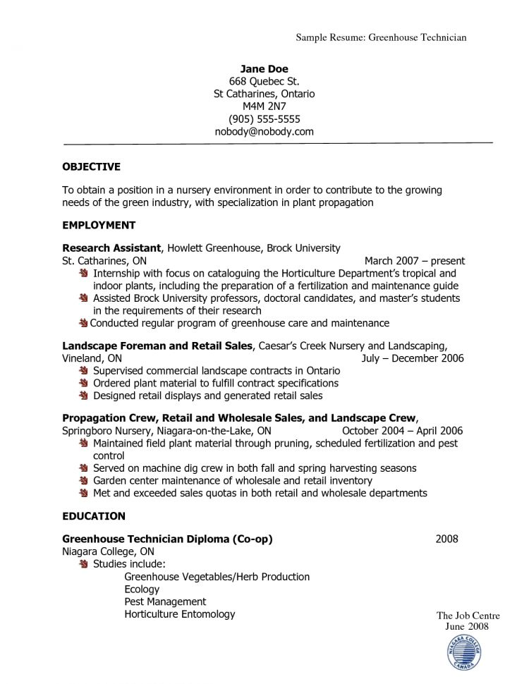 landscaping resume samples occupationalexamplessamples free edit with word landscape Resume Horticulture Manager Resume