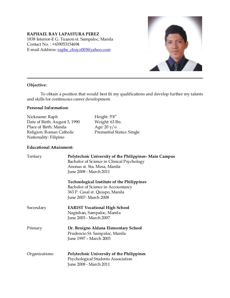 latest resume ojt objectives for accounting students latestresume phpapp01 thumbnail Resume Ojt Resume Objectives For Accounting Students
