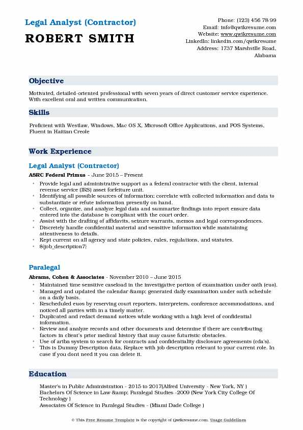 legal analyst resume samples qwikresume researcher pdf template best writing tips basic Resume Legal Researcher Resume
