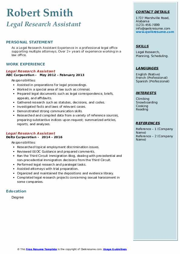 legal research assistant resume samples qwikresume researcher pdf best free sites basic Resume Legal Researcher Resume