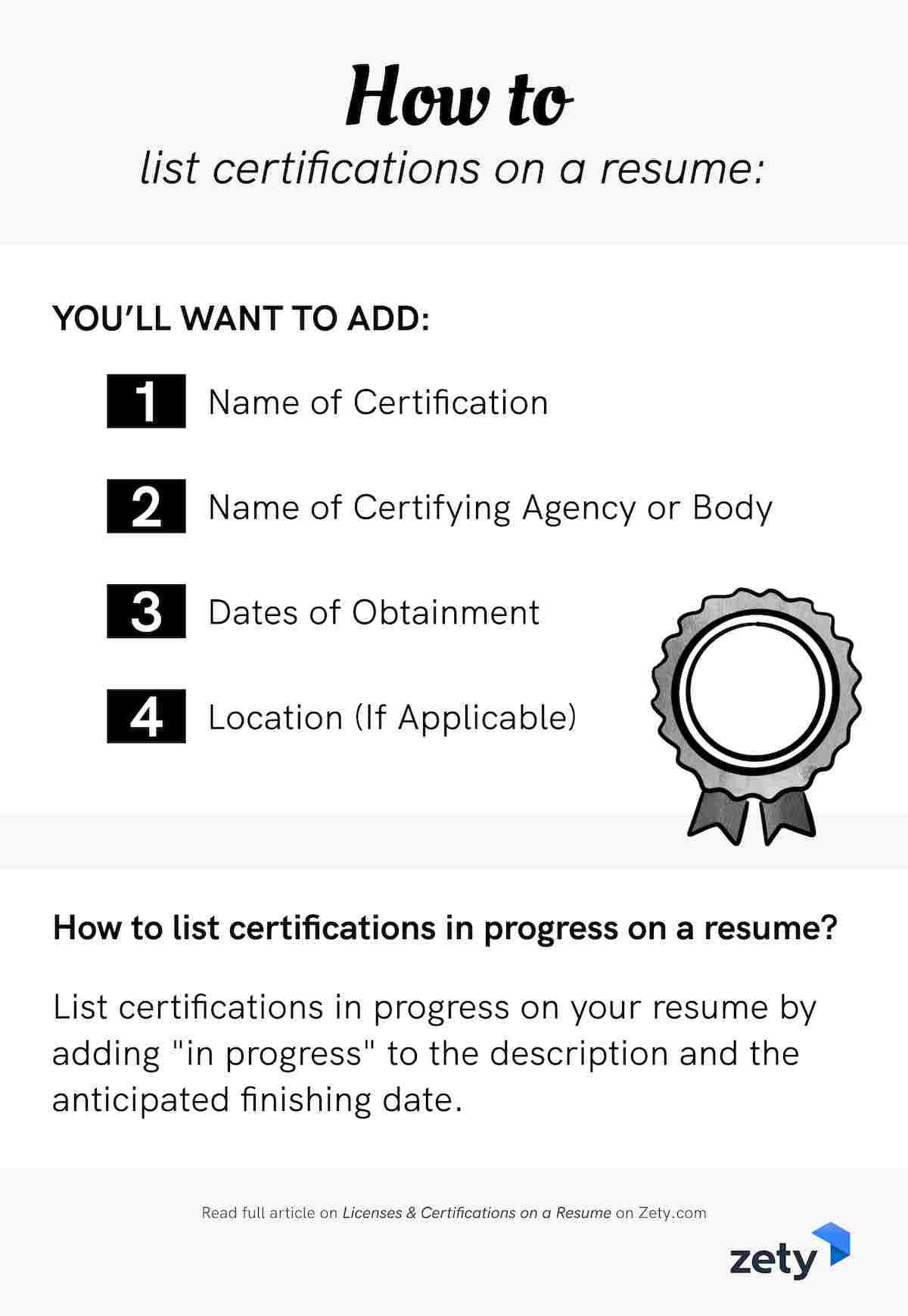 licenses certifications on resume sample easy tips certificates and to apply with indeed Resume Certificates And Licenses On Resume