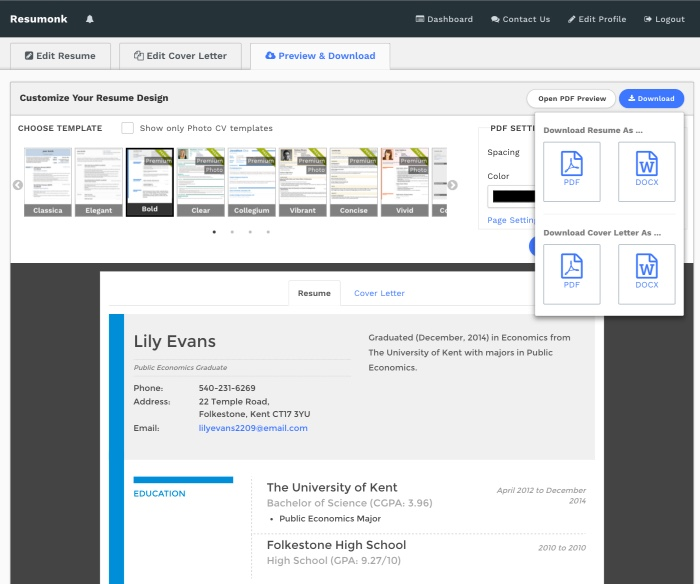 linkedin to resume converter create pdf quickly profile for import preview auto mechanic Resume Linkedin Profile For Resume