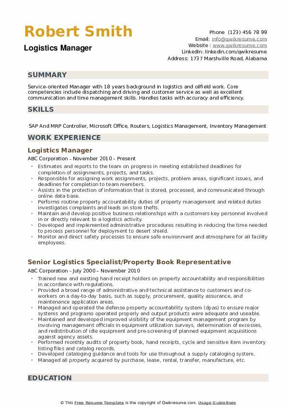 logistics manager resume samples qwikresume director of sample pdf entertainment industry Resume Director Of Logistics Resume Sample