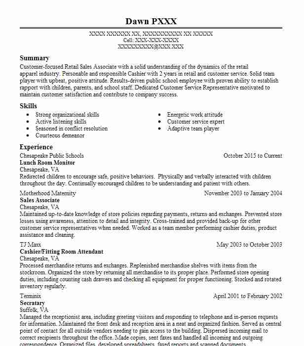 lunch room supervisor resume example plainfield central high school sample template word Resume Lunch Supervisor Resume Sample