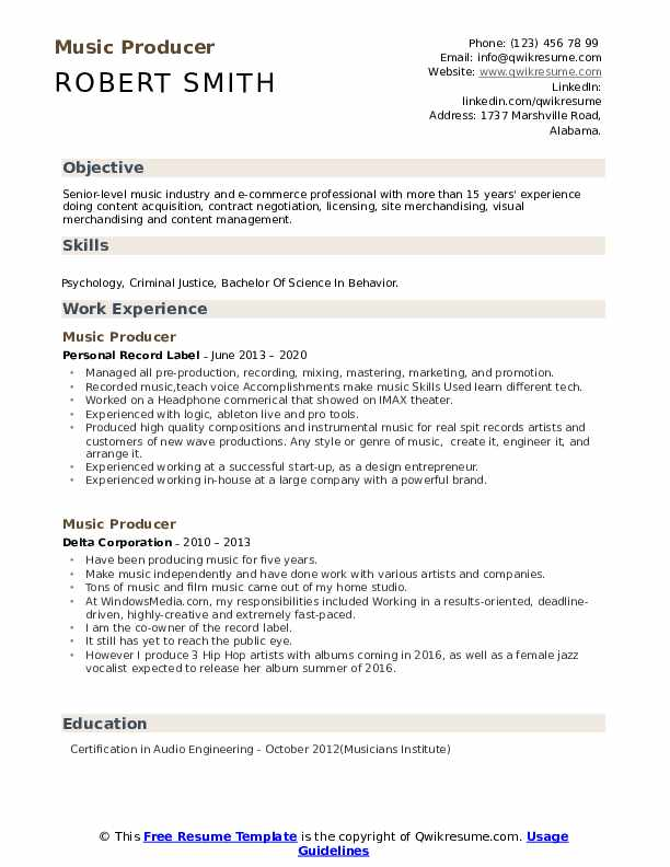 music producer resume samples qwikresume independent pdf media buyer examples front desk Resume Independent Music Producer Resume
