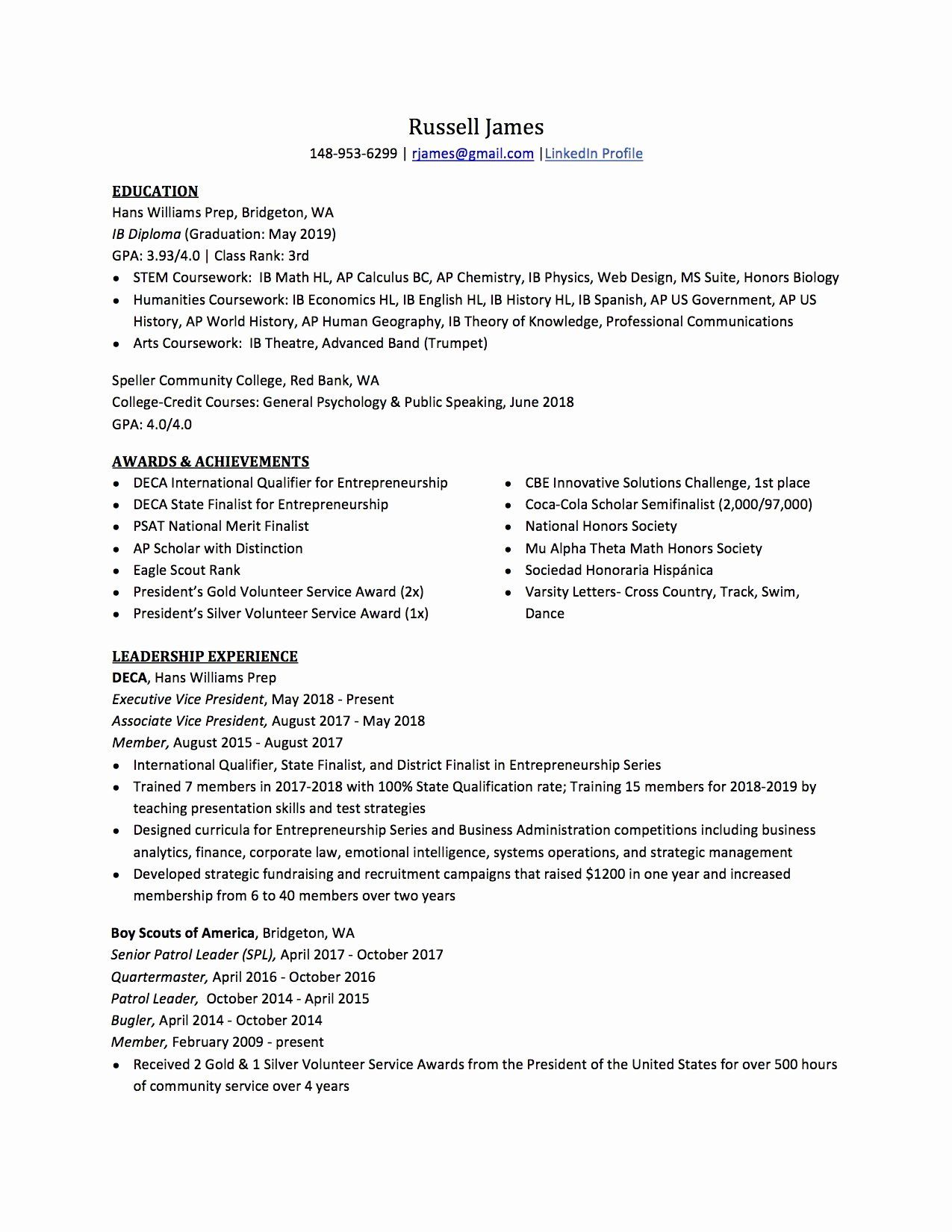 national honor society description resume inspirational high school to write the best te Resume National Honor Society Resume