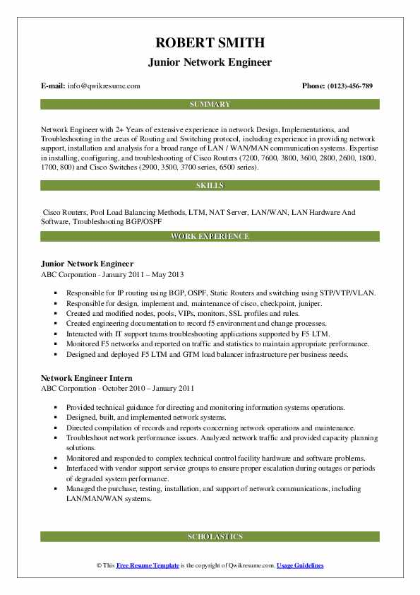 network engineer resume samples qwikresume sample for hardware and networking pdf outline Resume Sample Resume For Hardware And Networking Engineer