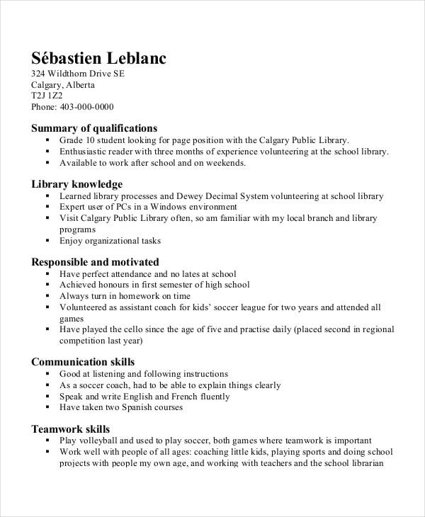 new school resume formats printable templates for mac first job high sample template Resume First Job High School Resume Sample