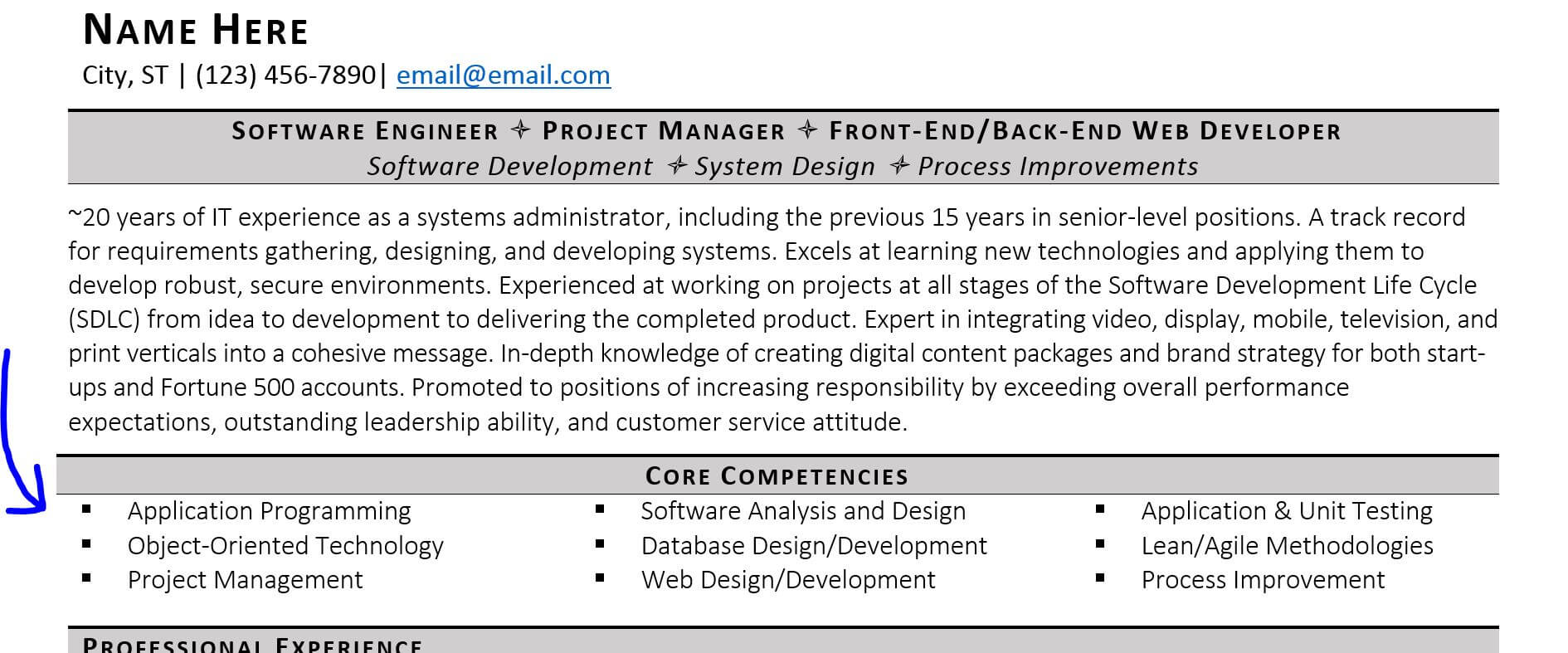 no fail resume tips for older workers examples zipjob pointers mature technical skills on Resume Resume Pointers For Mature Workers