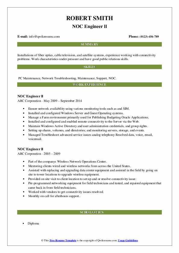 noc engineer resume samples qwikresume network pdf free interactive templates assistant Resume Noc Network Engineer Resume