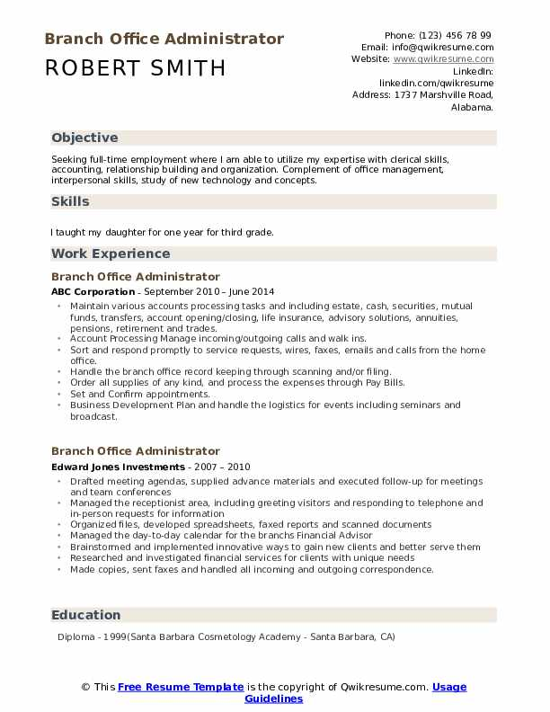 office administrator resume samples qwikresume good objectives for positions pdf profile Resume Good Resume Objectives For Office Positions