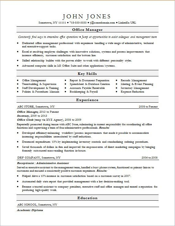 office manager resume sample monster administrator duties for interview and workshop Resume Office Administrator Duties For Resume