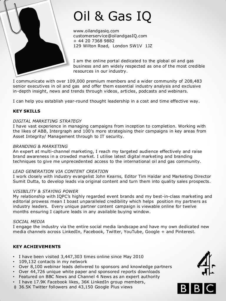 oil gas iq cv resume and examples oilgasiq cv150120 conversion gate01 thumbnail free Resume Oil And Gas Resume Examples