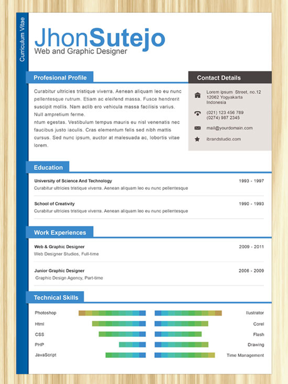 one resume templates designbump template free professional sample business analyst Resume One Page Resume Template Free