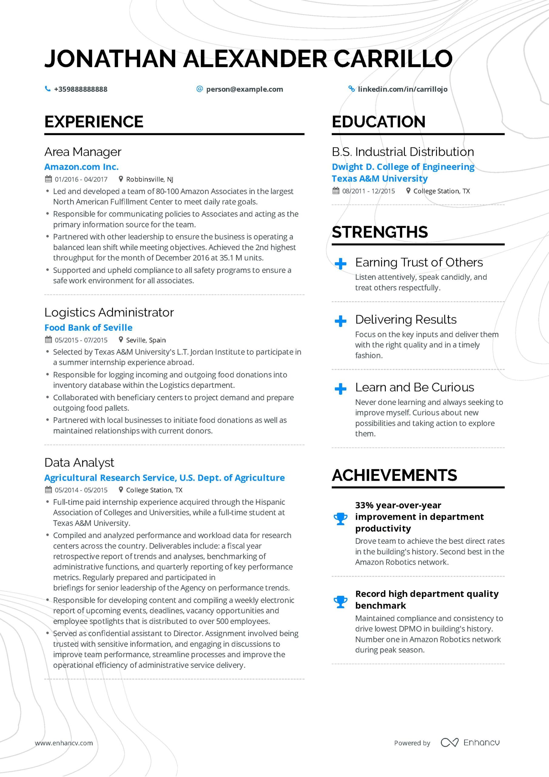 operations manager resume example and guide for examples job samples professional Resume Building Operations Manager Resume