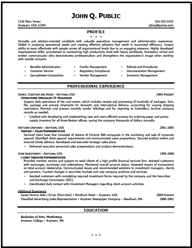 operations manager resume sample the clinic facility assembly line production engineer Resume Facility Operations Manager Resume Sample