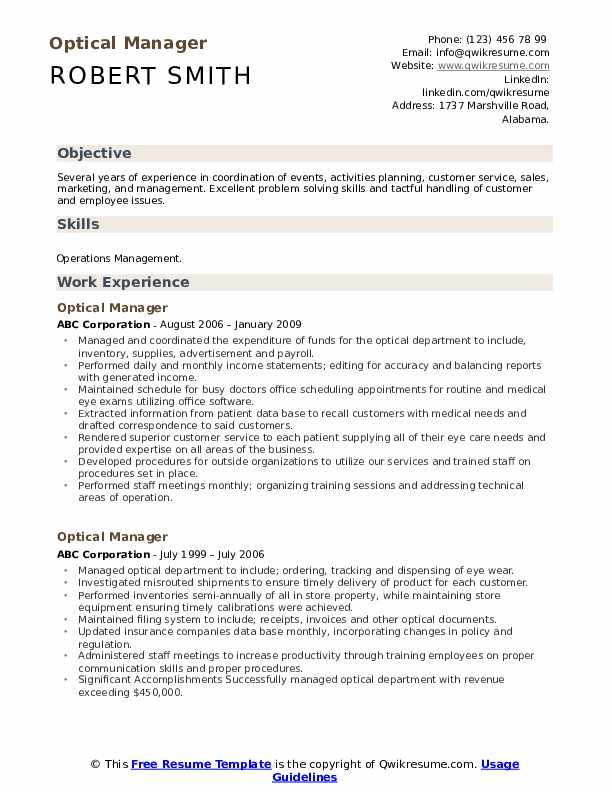 optical manager resume samples qwikresume dispensary examples pdf updated technical Resume Dispensary Manager Resume Examples
