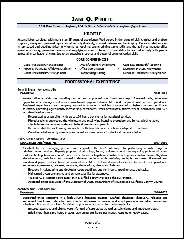paralegal resume sample the clinic immigration attorney pg1 poultry warehouse copy and Resume Immigration Attorney Resume Sample