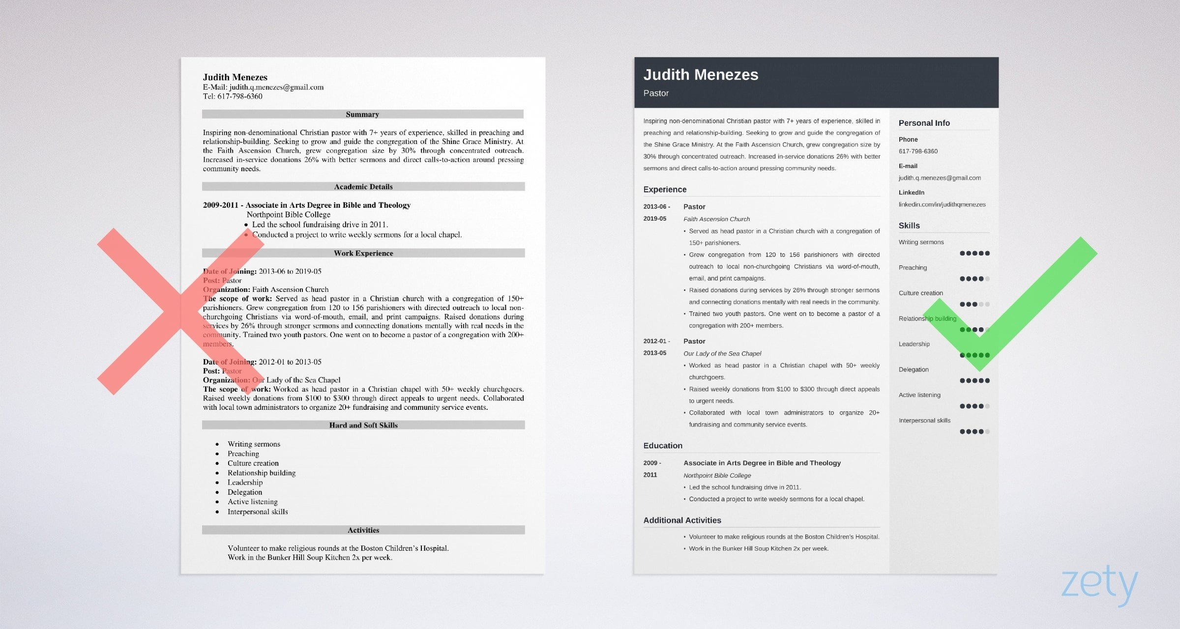 pastor resume template guide examples sample ministry and cover letter example salesforce Resume Sample Ministry Resume And Cover Letter