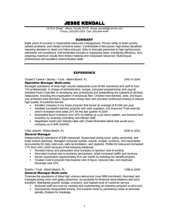 pin by kristina on resumes job resume samples objective examples restaurant manager Resume Restaurant Manager Resume Objective