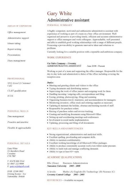 pin on resume templates format for administration manager client relationship subject Resume Resume Format For Administration Manager