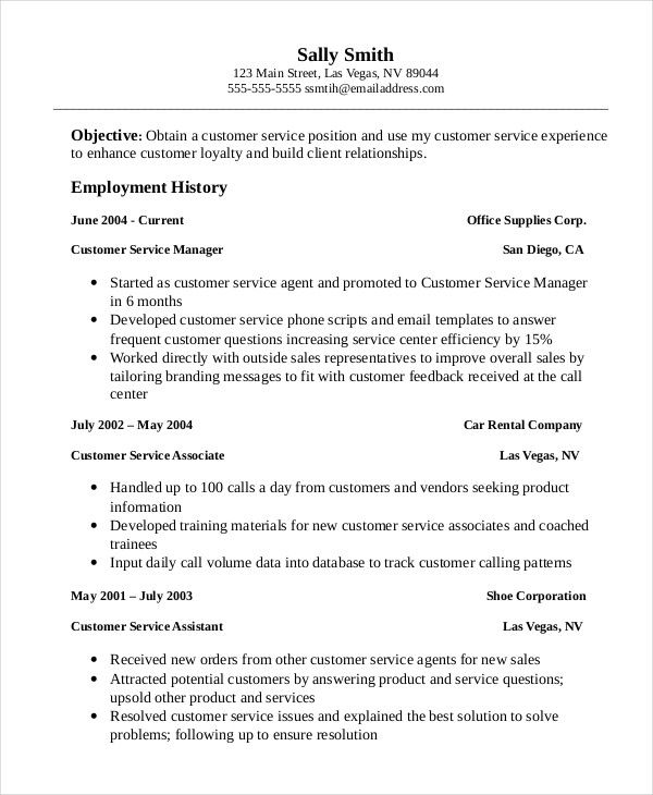 professional customer service associate resume template manager are you looking for Resume Customer Service Associate Resume Objective