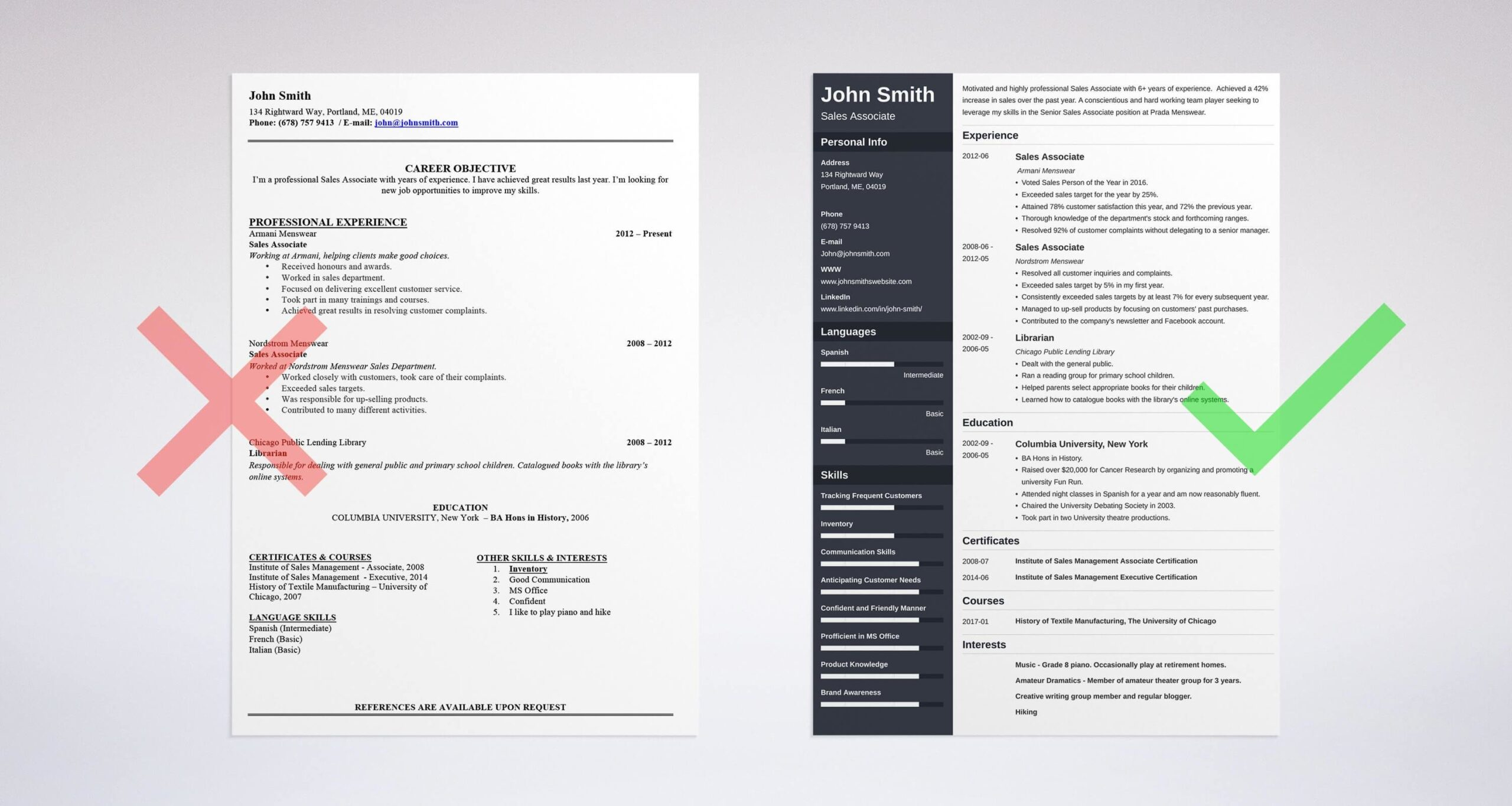 professional resume summary examples statements one on template dark credit underwriter Resume One Page Summary Resume