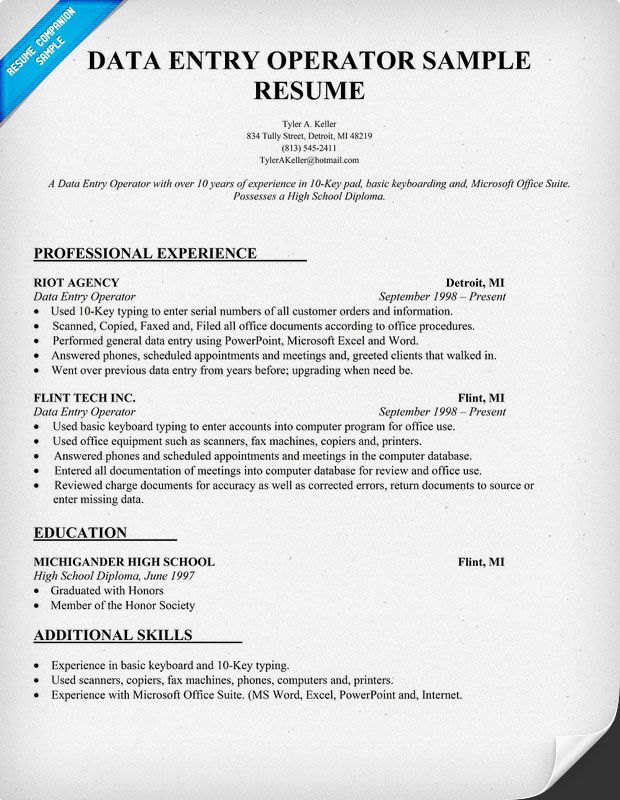 professional resume template job samples objective sample for data entry fresher oracle Resume Sample Resume For Data Entry Fresher