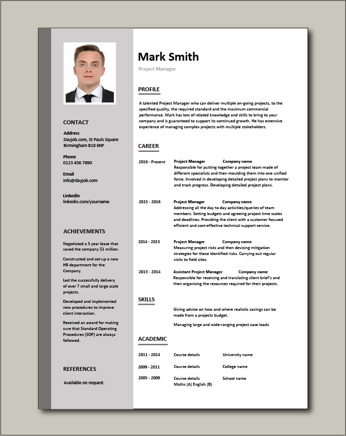 project manager cv template construction management jobs team leader resume microsoft Resume Construction Manager Resume Template Microsoft Word