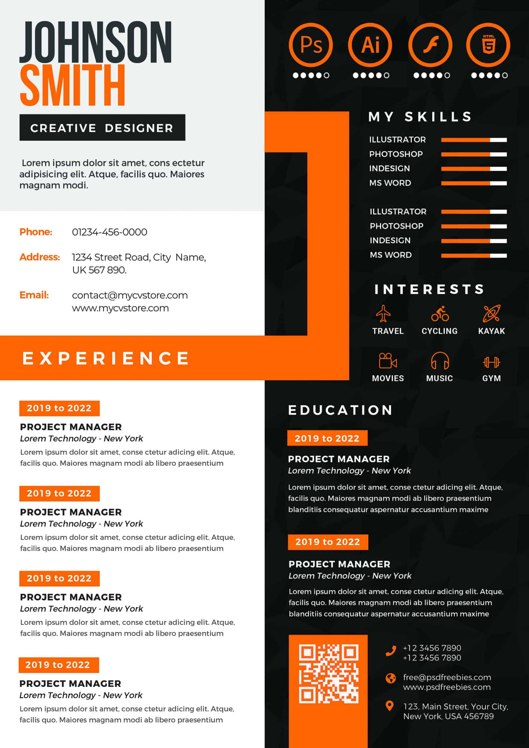 project manager resume customize modern cv templates scaled political candidate sample Resume Modern Project Manager Resume