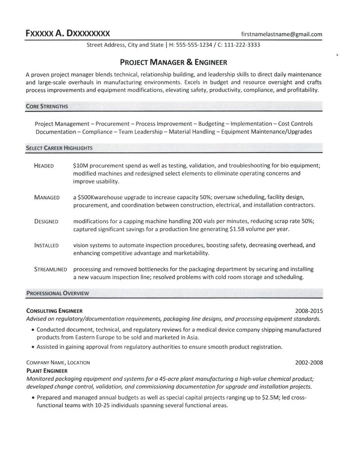 project manager resume implementation sample ideal format salesforce admin for years Resume Implementation Project Manager Resume