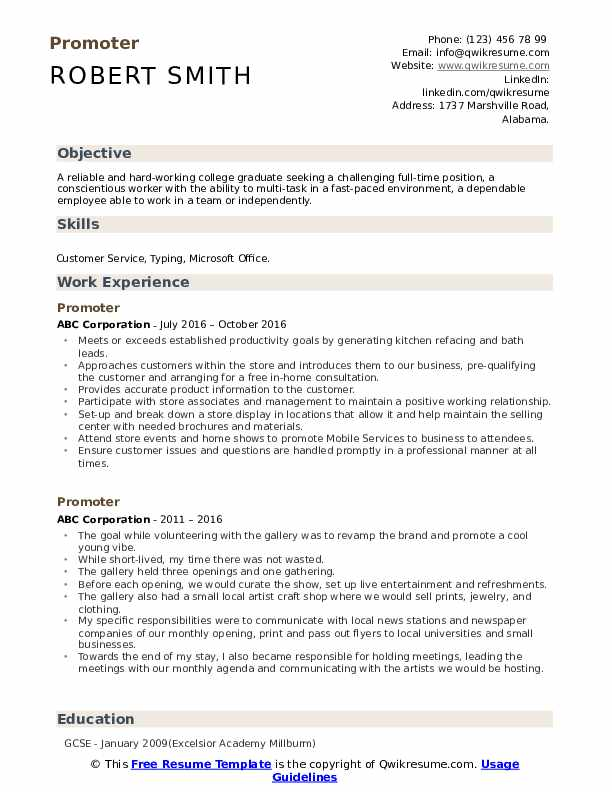 promoter resume samples qwikresume targeted objective examples pdf icon images electrical Resume Targeted Resume Objective Examples