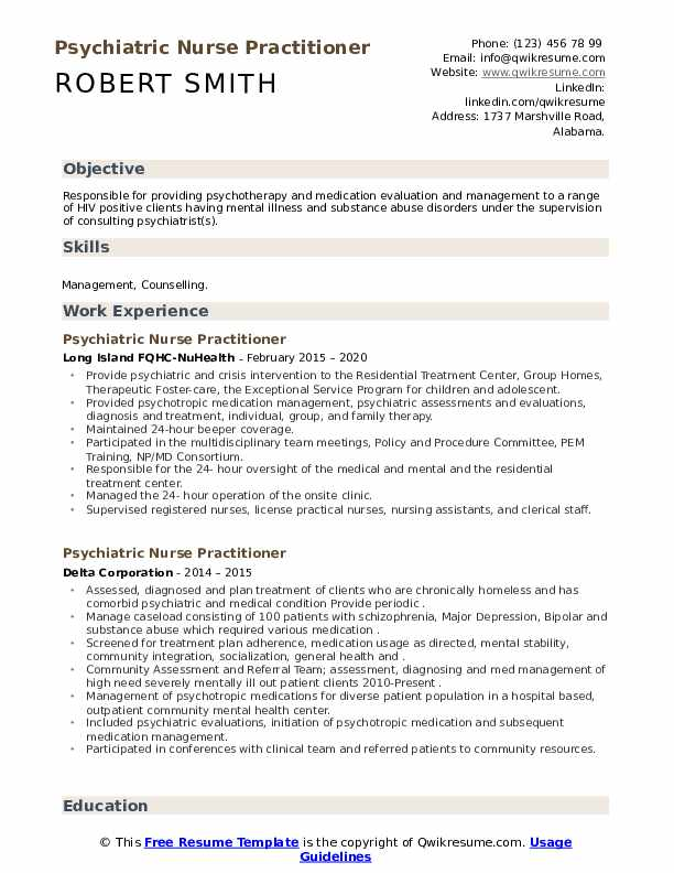 psychiatric nurse practitioner resume samples qwikresume sample pdf up your examples for Resume Psychiatric Nurse Practitioner Resume Sample